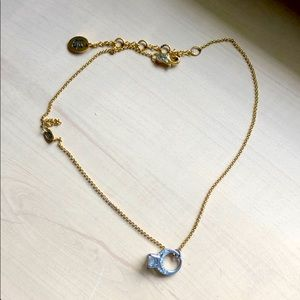 Juicy Couture Mini Diamond Ring Necklace